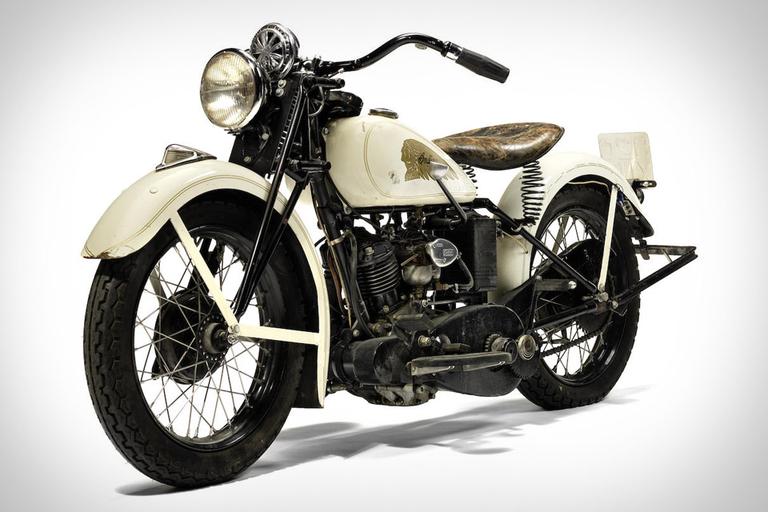 Steve McQueen's 1934 Indian Sport Scout Motorcycle