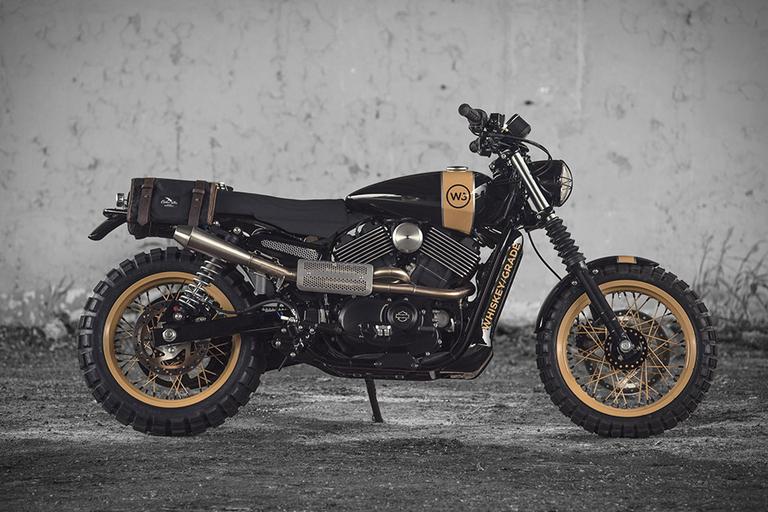 Analog Harley-Davison Street 750 Motorcycle