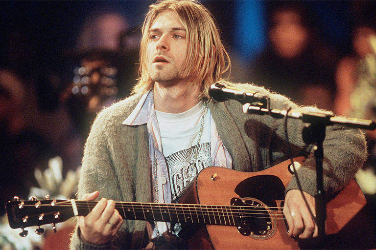 Kurt Cobain's Unplugged Cardigan
