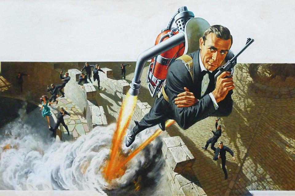 Frank McCarthy Thunderball Original Artwork | Uncrate