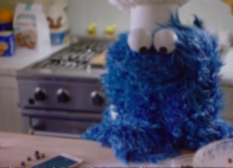 Cookie Monster and Siri Make Cookies