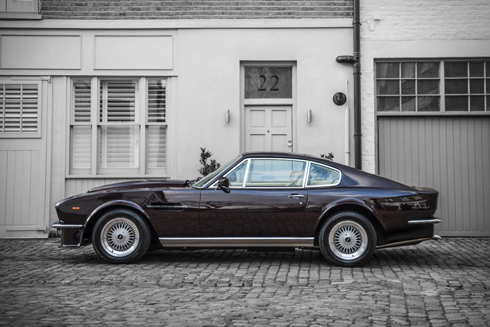 Sir Elton John S Aston Martin V8 Vantage Saloon Uncrate