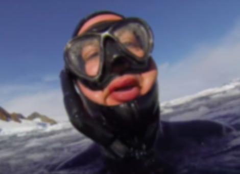 Freediving In Antarctica