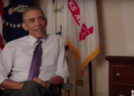 Derek Jeter Talks with President Obama