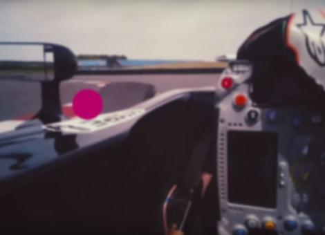 Eye Tracking in an F1 Car