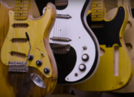 Harvesting Guitars from the Bones of New York City