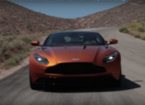 James Bond's Aston Martin DB11