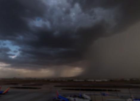 Microburst Over Phoenix, Arizona
