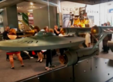 Restored Star Trek Enterprise Model