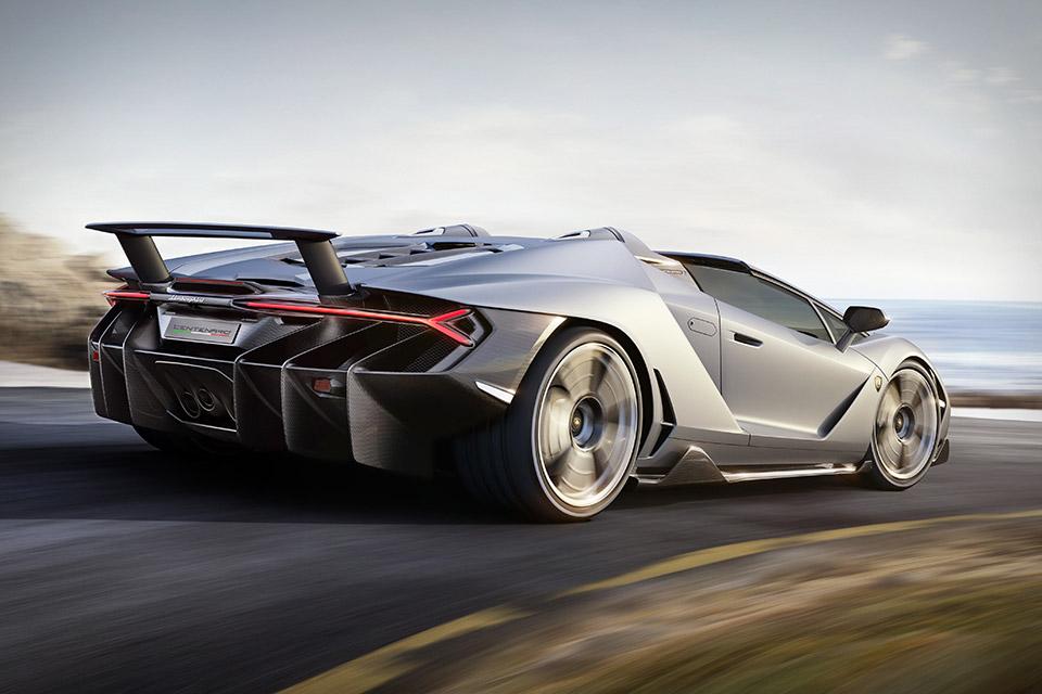 Lamborghini Centenario Roadster Uncrate