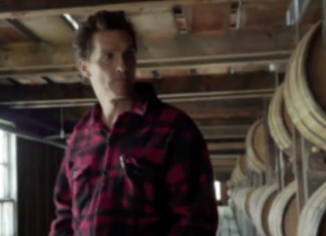 Matthew McConaughey is Wild Turkey Bourbon's New Creative Director