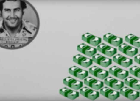 Pablo Escobar's Wealth Visualized