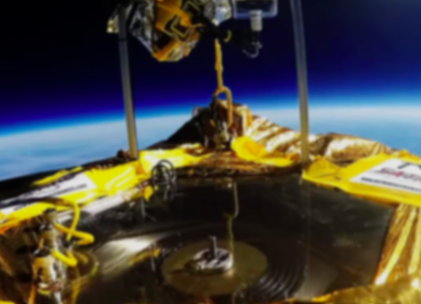 First Phonographic Record Played In Space