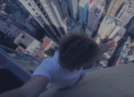 Rooftop Parkour with Oleg Cricket