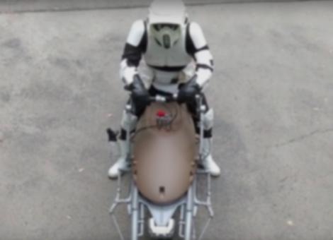 Working Star Wars Speeder Bike