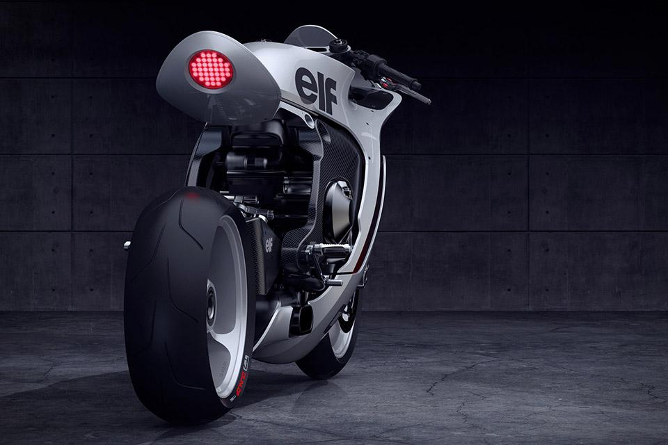 Huge Moto Mono Racr - Liebe auf zwei Rädern! - Motorblock