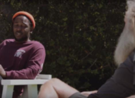 Kendrick Lamar Meets Rick Rubin