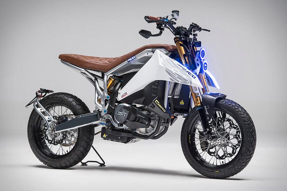 Aero E Racer Motorcycle