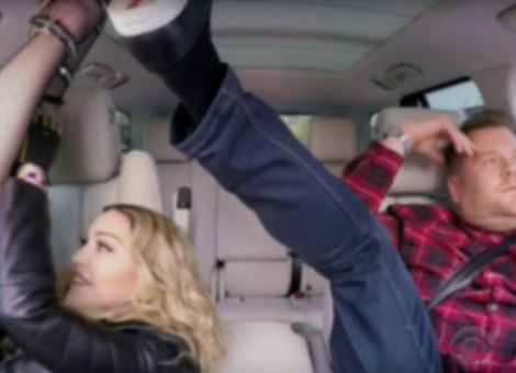 Carpool Karaoke With Madonna
