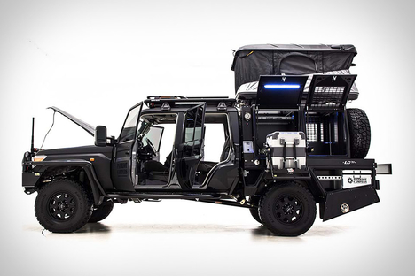kahn land rover defender double cab truck uncrate