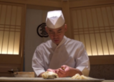 The Sushi Master of Tokyo