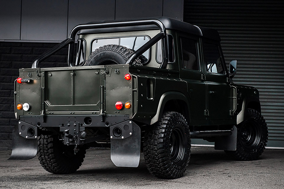 Land Rover Truck >> Kahn Land Rover Defender Double Cab Truck Uncrate