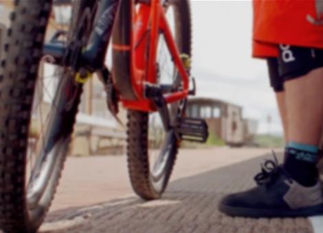 Danny MacAskill's Santa Cruz 5010 CC Mountain Bike