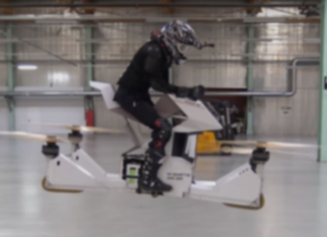 Hoverbike Scorpion-3