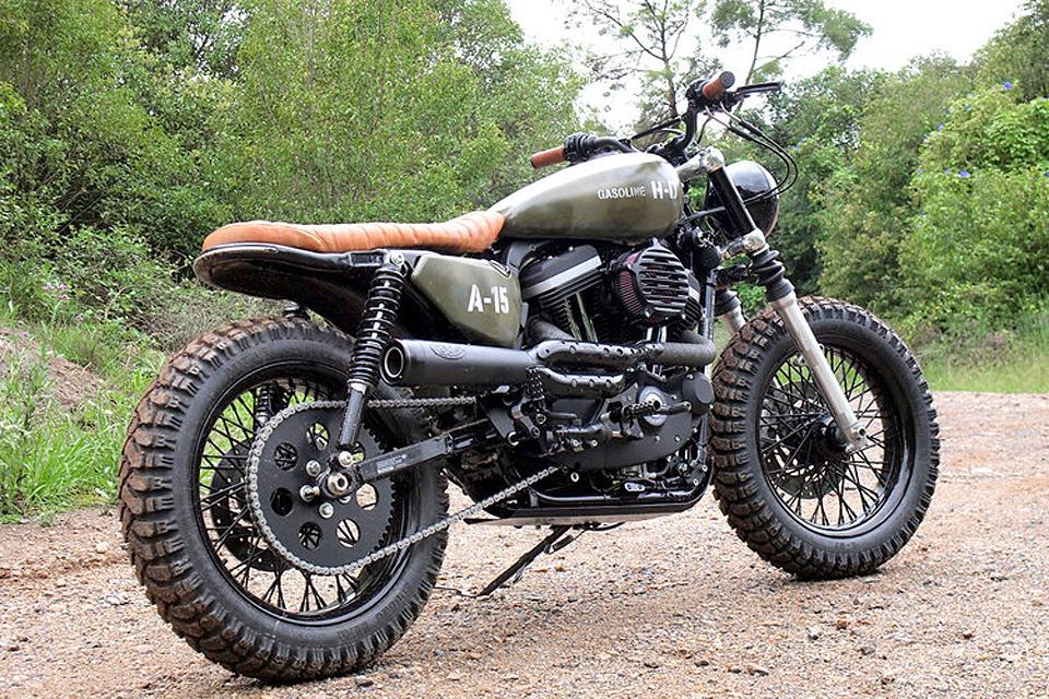 Gasoline Motor Co. Harley-Davidson Scrambler   Uncrate