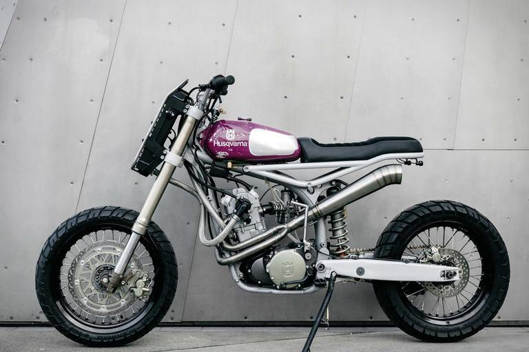 Moto-Mucci Husqvarna TE570 Motorcycle