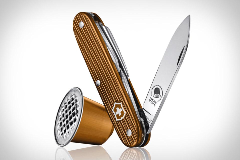 Victorinox Swiss Army Pioneer Nespresso Knife Uncrate