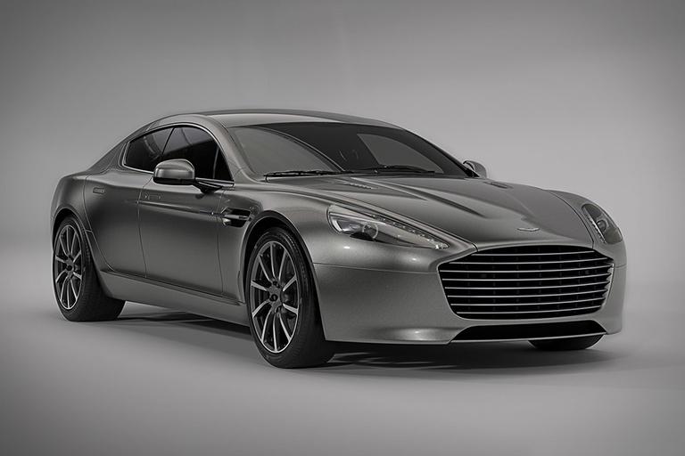 Aston Martin RapidE All-Electric Sports Car