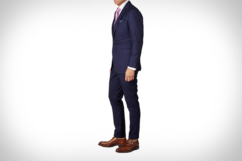 8ea4fd1c8eb2ab Conor McGregor's F*ck You Pinstripe Suit | Uncrate