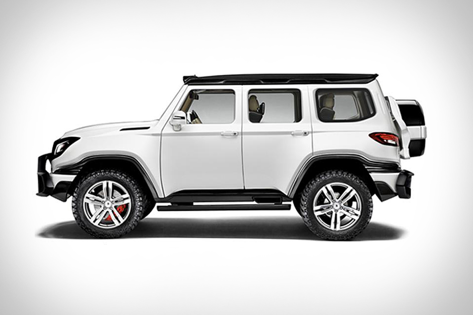 Ares X-Raid SUV | Uncrate