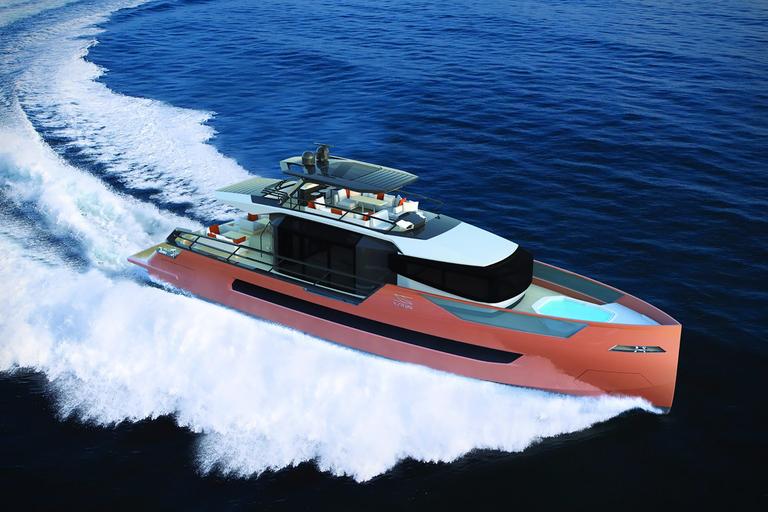 Sarp XSR 85 Yacht
