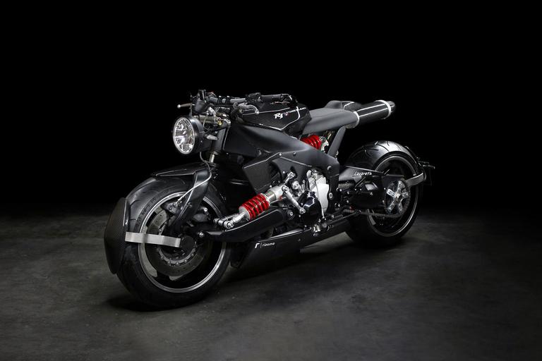 Lazareth Yamaha R1 Street Motorcycle