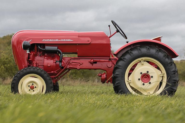 1960 Porsche Diesel Junior Tractor