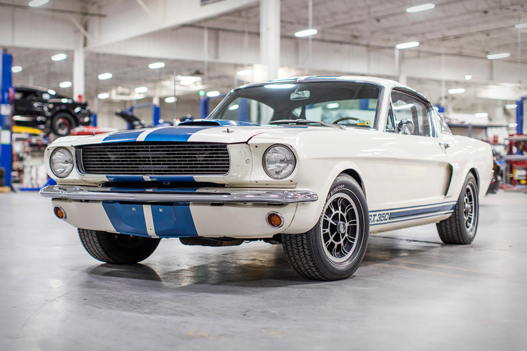 Carroll Shelby's 1966 GT350H Fastback