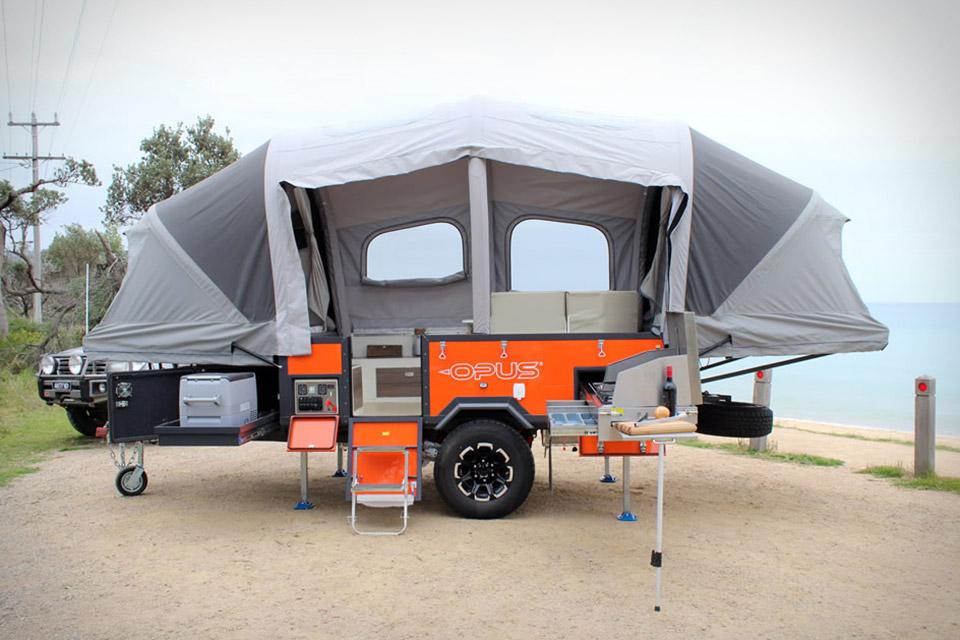 Pop Up Camping : Air opus pop up camper uncrate