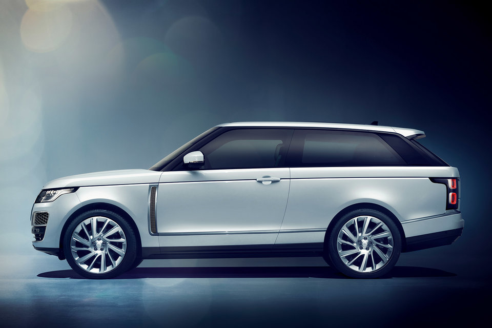 LAND ROVER RANGE ROVER SV COUPE Land Rover turns 70 this