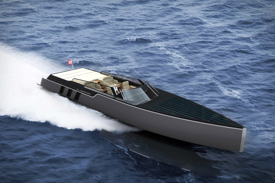 Numarine 26XP High-Speed Expedition Yacht | Uncrate