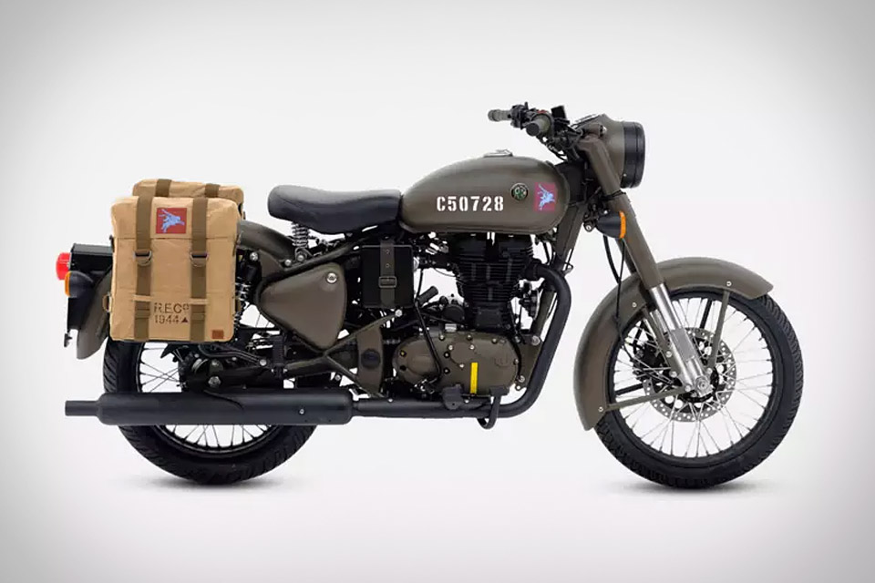 la moto royal enfield classic 500 pegasus edition uncrate. Black Bedroom Furniture Sets. Home Design Ideas