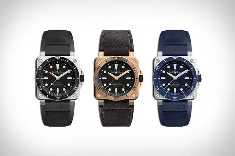 16808a664f8 Bell   Ross Diver Watch Collection