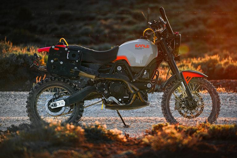 Earle Ducati Alaskan Motorcycle