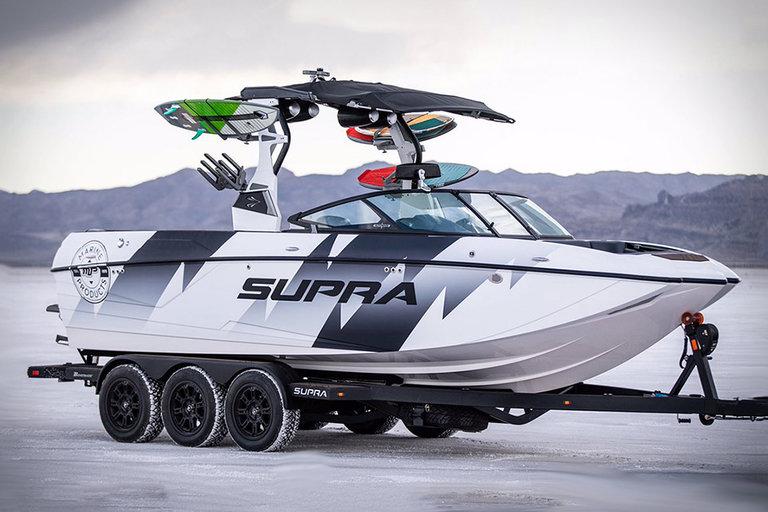 Ken Blocks Supra Ford Raptor Boat