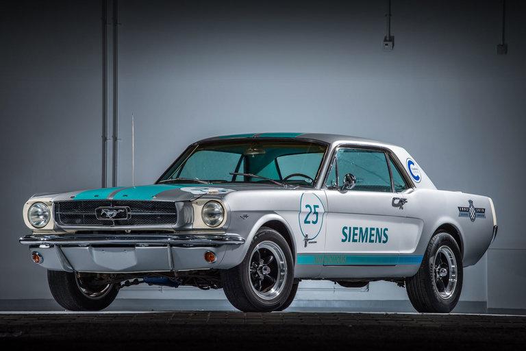 Siemens Autonomous 1965 Ford Mustang