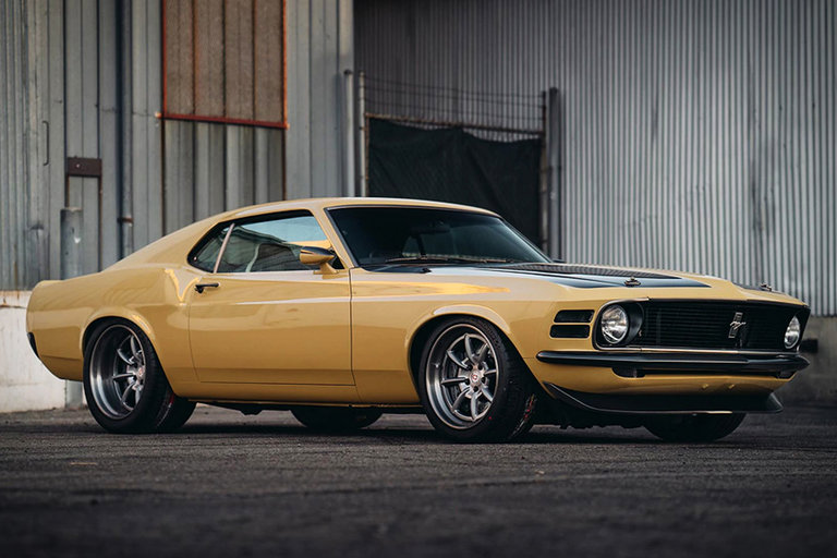 Robert Downey Jr.'s 1970 Ford Mustang