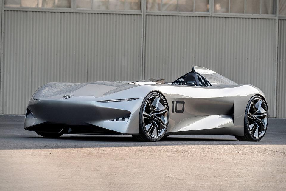 Mercedes Benz Eq Silver Arrow Show Car Uncrate