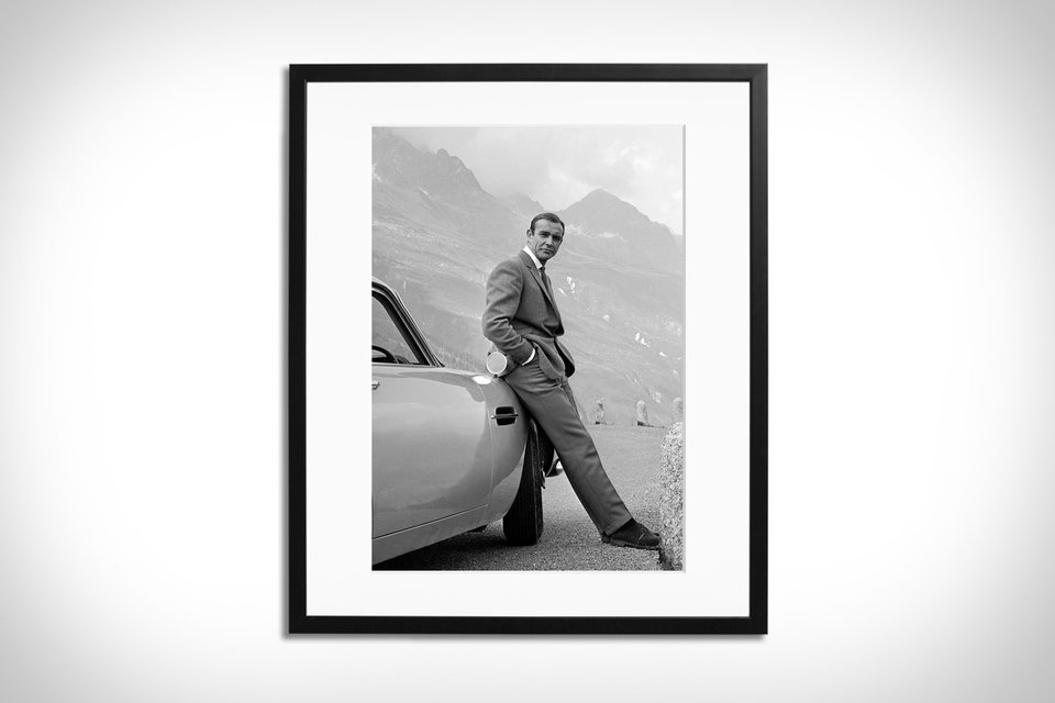 Sean Connery Framed Print at UNCRATE