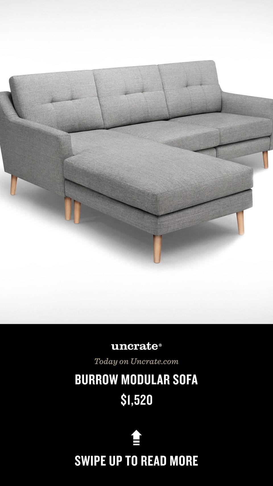 Awe Inspiring Le Sofa Modulaire De Burrow Uncrate Machost Co Dining Chair Design Ideas Machostcouk